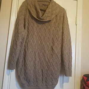 Jeanne Pierre 3x Cowl Neck Sweater Tunic